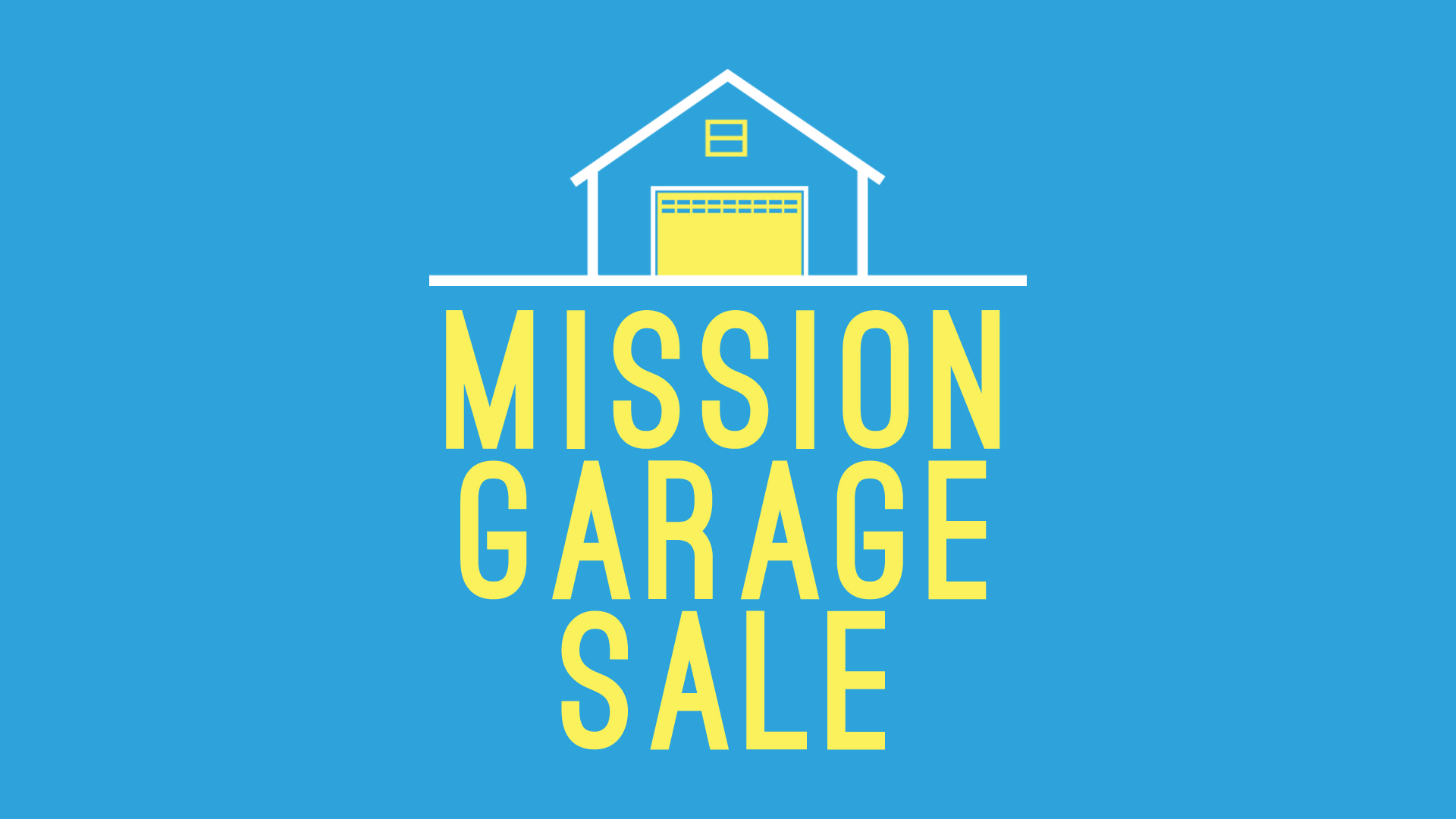 Mission Garage Sale – Pearce Church – Rochester, NY